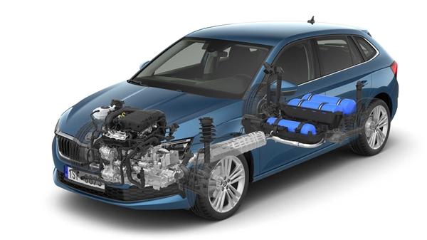 9L油能跑630km!斯柯达天然气版车型官图发布 最大功率90马力