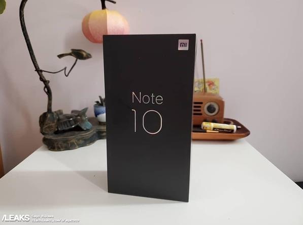 小米Note10 Pro曝光 搭载骁龙855 Plus+40W快充