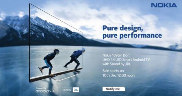 诺基亚智能电视渲染图公布 搭载PureX四核处理器