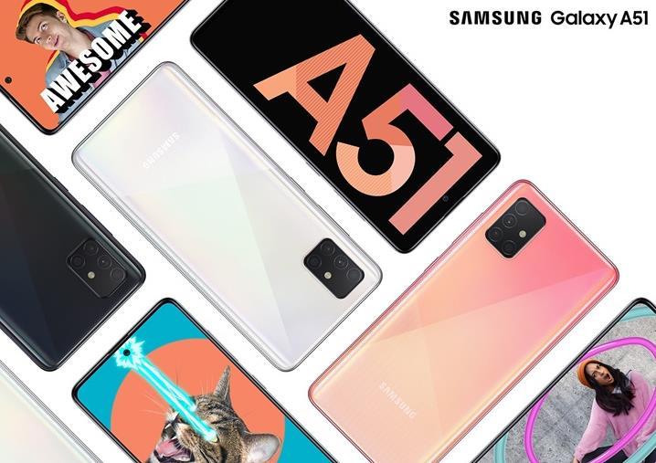 三星Galaxy A51/A71将登陆欧洲 A71版搭载4500mAh电池+25W快充