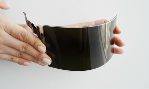 三星带来搭载卷轴式OLED屏幕的原型机 按下按钮屏幕就会展开
