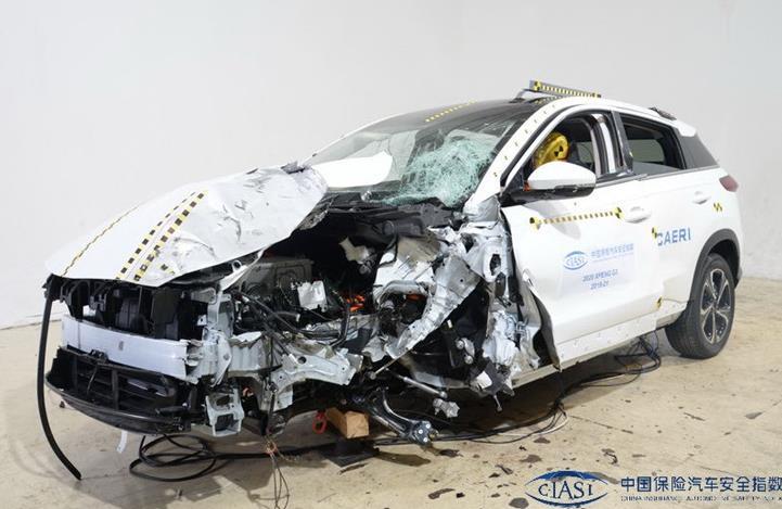 小鹏G3获得碰撞测试的4项优秀及2项良好 去年销量达16608辆