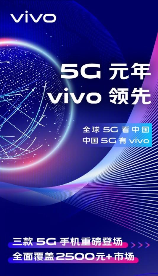 vivo去年共发布3款5G手机 申请2000+项相关专利