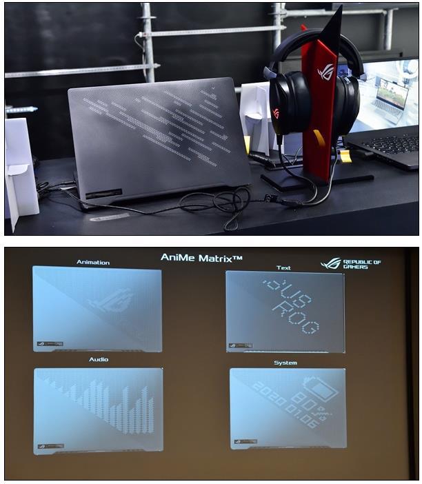 华硕首发锐龙4000H游戏本:6536个打孔的灯效屏幕