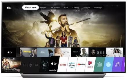 苹果Apple TV应用上线LG 2019款电视 可以支援Dolby Vision画质