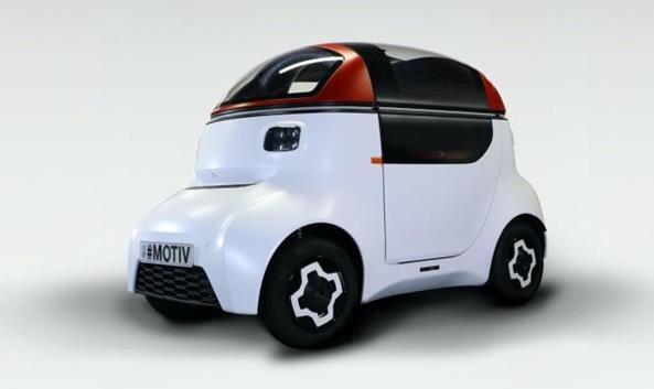 GMD发布纯电动微型代步车Motiv 搭载17.3kWh电池+100公里续航
