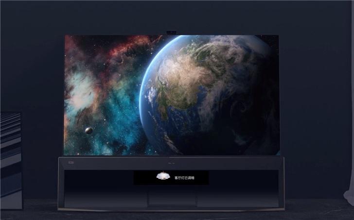 海信发布全球首款8K HDR双屏电视U9:2500nit峰值亮度