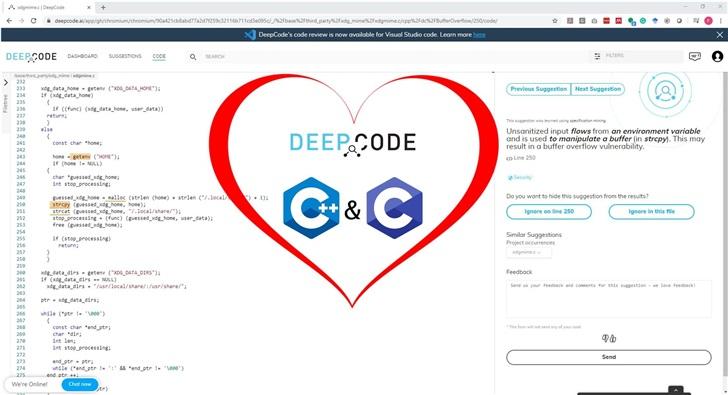 DeepCode 为 C/C ++ 添加 AI 静态代码分析支持