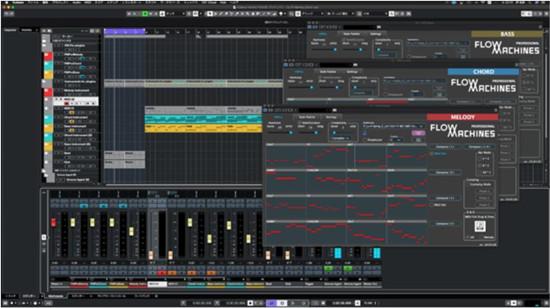 索尼旗下实验室推出AI辅助音乐制作服务Flow Machines
