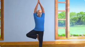 莫迪发布以自己为原型的卡通短片 呼吁民众把瑜伽练起来