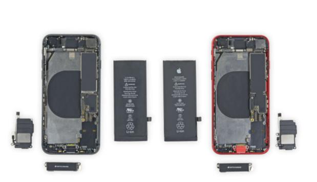 拆解iPhone SE 多数零件与iPhone 8相同?或将维修成本更低