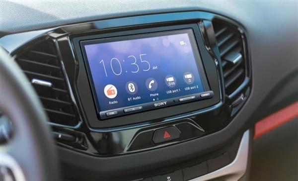 索尼发布全新车载中控屏幕设备:内置DSP 通吃Android/iOS