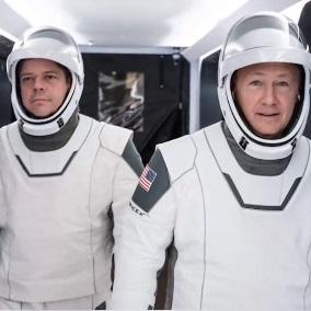 NASAS公布paceX全新宇航服:由好莱坞服装大师监制
