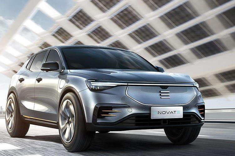 天际汽车首家线下门店已于上海启动试营业 将负责对天际ME7进行展示和宣传