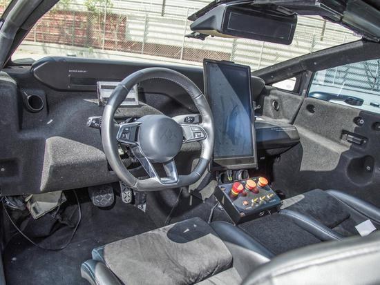 法拉第未来原型车FF 91正被拍卖:续航里程608公里 内部处于裸露状态