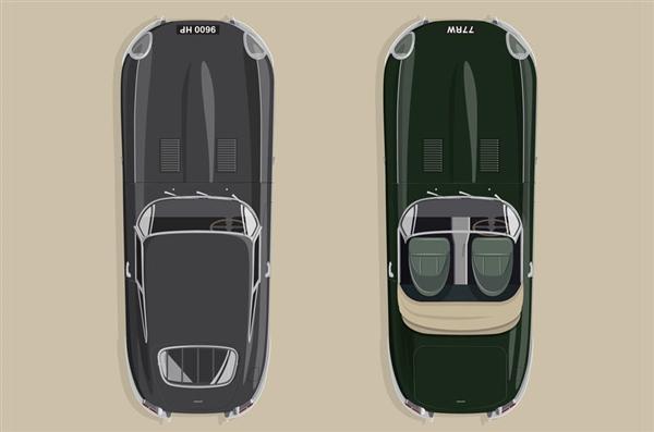 为纪念E-TYPE跑车即将诞生60周年 捷豹将制作6对E-TYPE车型