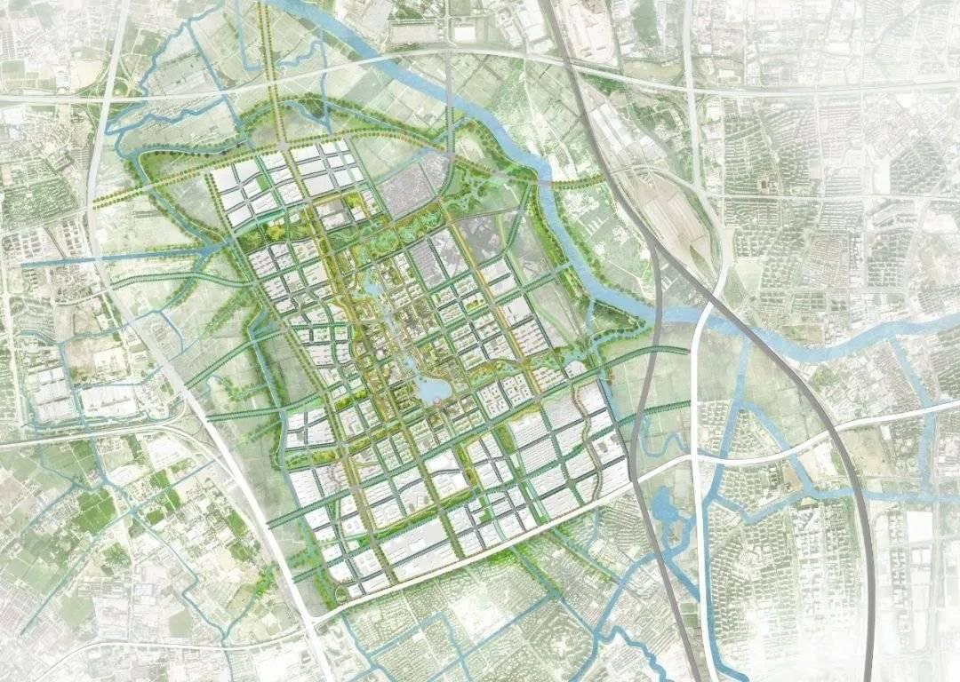 虹桥前湾规划设计概念公布 虹桥又一个千万㎡级别开发