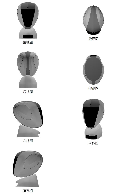 京东数科新增测谎机器人专利 并公布相关外观设计图